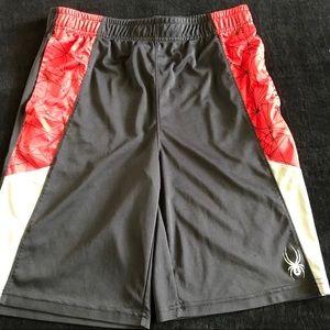 Spyder boy's gym shorts size size XL